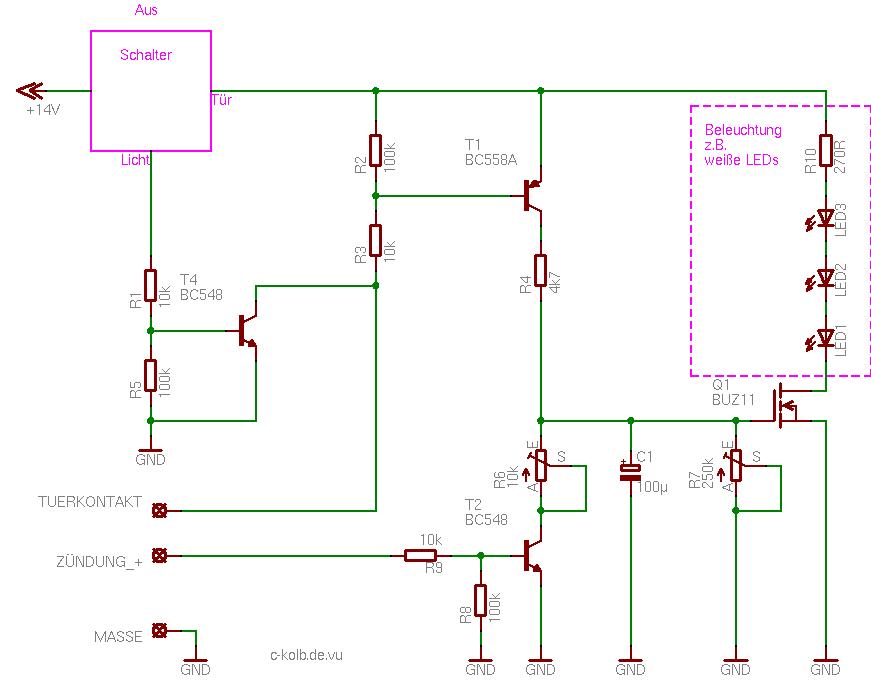 PKW-Innenbeleuchtung - c-kolb